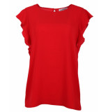 In Shape Blouse 190172c rood