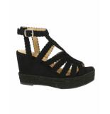 Bullboxer Sandalen met hak 175011f2t zwart