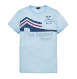 PME Legend T-shirt ptss193513 blauw
