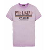 PME Legend T-shirt ptss193513 paars
