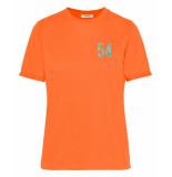 Pieces T-shirt 17101385 pcmiana oranje