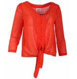 Another Label Blouse d21/319102 salomon oranje