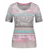 Gerry Weber T-shirt 870329-44139 groen