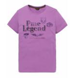 PME Legend T-shirt ptss194532 paars