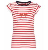 NoNo T-shirt n903-5407 kelly wit