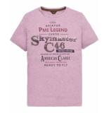 PME Legend T-shirt ptss194533 paars