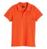 Scotch Shrunk Polo 147968 oranje