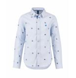 CKS C.k.s. blouse bosoen blauw