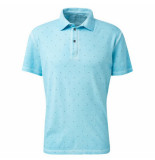 Tom Tailor Heren polo trendy design turquoise