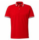 Tom Tailor Heren polo rood