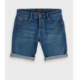 Scotch & Soda Korte broeken 126348 blauw