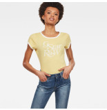 G-Star T-shirts tops 128148 geel