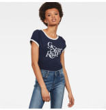 G-Star T-shirts tops 128149 blauw
