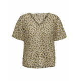 Only T-shirts tops 129567 groen