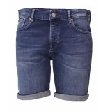 Scotch & Soda Jeans short 150482 blauw