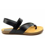 CASARINI 19030 sandaal zwart