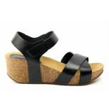 CASARINI 19019 sandaal zwart