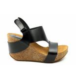 CASARINI 19003 sandaal zwart