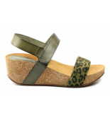 CASARINI 19010 sandaal groen