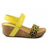CASARINI 19010 sandaal geel