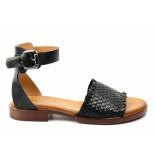 Creator Ib18579. sandaal zwart