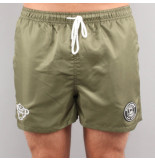 Black Bananas F.c. swimshort groen
