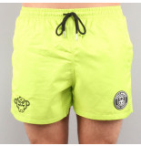 Black Bananas F.c. swimshort geel