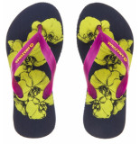 Amazonas Hot pink kinderslippers enjoy botanic girl paars