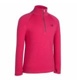 Icebreaker Skipully bodyfit 260 tech top van merino wol roze