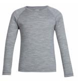 Icebreaker Metro thermo shirt oasis ls crew grijs