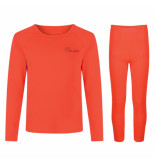 Dare2b Koraal rode thermo ondergoed set cool off ii baselayer rood