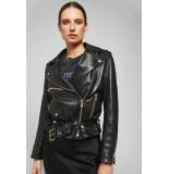 Anine Bing Vintage leather jacket zwart