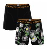 Muchachomalo 2-pack men cotton modal geometric