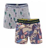 Muchachomalo Men 2-pack short free like a bird