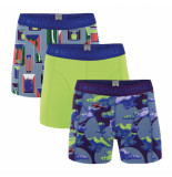 Muchachomalo Men short 3-pack life is a journey