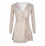Delousion Dress tia flower roze