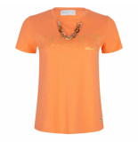 Delousion Top summer - oranje