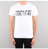 Versace Jean couture lim mc logo print wit