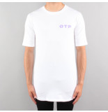 Off The Pitch Script tee wit