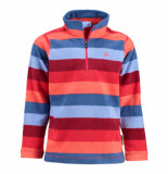 Color Kids /blauwe fleece ski pully selfridge rood