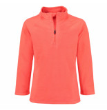 Color Kids Koraal rode fleece skipully sandberg sneldrogend rood