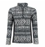 Brunotti /witte meisjes skipully aquilly tricot fleece zwart