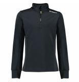 Brunotti Skipully terni tricot fleece zwart