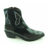 Progetto Korte laarzen zwart