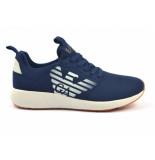 Emporio Armani Sneakers blauw