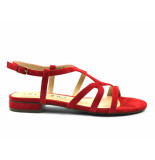 Di Lauro Sandalen rood