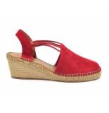 Cypres Sandalen rood