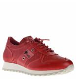 Cetti Sneakers leer rood