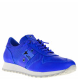 Cetti Sneakers leer blauw