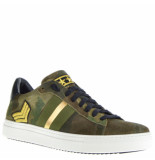Stokton Sneakers camouflage groen